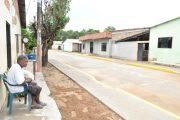 Barrio Inmaculada de Chimichagua con sus calles pavimentadas mejora su entorno