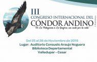 Valledupar espera con expectativa el Tercer Congreso Internacional del Cóndor Andino