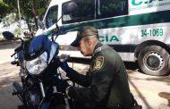 30 motocicletas marcadas en jornada al occidente de Valledupar, para evitar su hurto