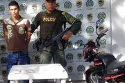 Con 1.800 gramos de cocaína cayó hombre en vías del Cesar