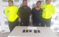 Enviados a la cárcel por comprar celulares hurtados