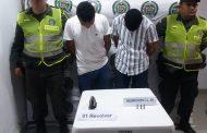 Tres personas capturadas en el Cesar por porte ilegal de armas de fuego y hurto