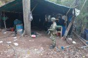 En La Guajira, Ejército destruyó cristalizadero de coca