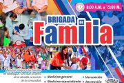 El próximo sábado, Brigada de Familia en el Milciades Cantillo