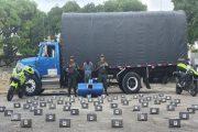 Capturado cuando transportaba en camión 70 mil gramos de clorhidrato de cocaína