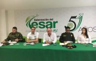 Gobernador garantiza seguridad en el Cesar durante la marcha del 21 de noviembre