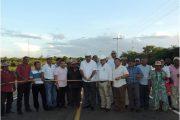 Entregan la vía que comunica desde la Troncal del Caribe hasta la comunidad Indígena Cucurumana