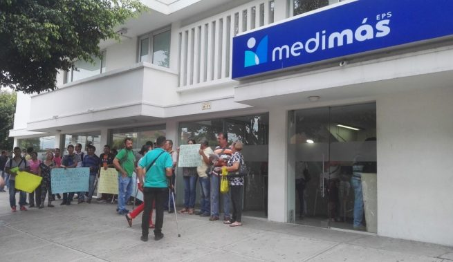 Procurador pide a Supersalud intervención forzosa administrativa para liquidar a Medimás EPS