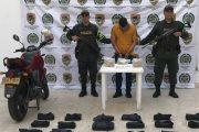En sur del Cesar, capturado hombre con 3 kilos de base de coca