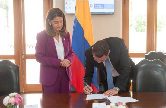 Gobernador de La Guajira y Vicepresidenta firmaron Ruta por la Transparencia e Integridad