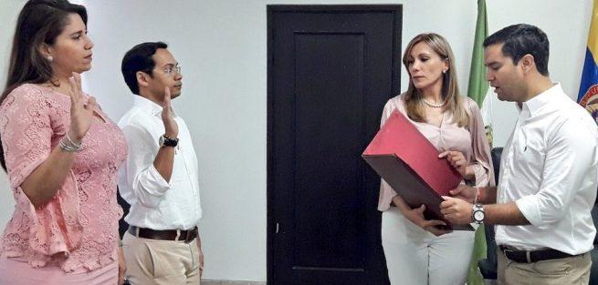 Posesionados secretarios de Salud y de Tránsito del gabinete del Mello Castro