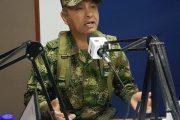 A denunciar y no pagar, invitación del comandante de la Décima Brigada del Ejército