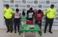 """Cayeron en Aguachica """"Los lecherita"""" por tráfico de estupefacientes"""