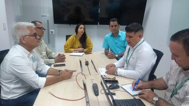 Electricaribe realizó mesa de trabajo con el alcalde de Pueblo Bello