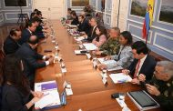 Gobernador Monsalvo trazó proyectos para el Cesar con el presidente Duque