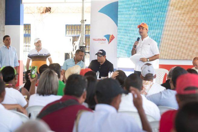 Alcalde de Valledupar, en Los Venados y Mariangola continuó diseño de su plan de desarrollo
