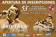 Desde hoy abren inscripción del Festival Vallenato versión 53