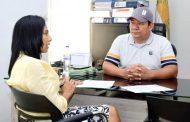 Rectora de la UPC Cesar, suscribió carta de intención para firma de Convenio con Mineducación y Municipio de La Gloria
