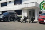 En 2020, van 40 motocicletas y 8 automóviles recuperados en el Cesar