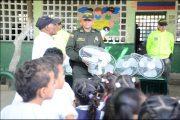 Policía recuperó ventiladores hurtados en el Milciades Cantillo sede 25 de Diciembre