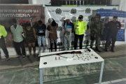 En La Guajira, capturados presuntos integrantes de Los Pachencas