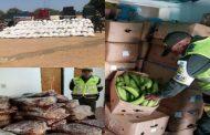 Incautan más de $ 573 millones en productos agropecuarios de contrabando