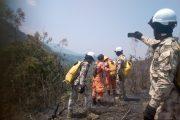 Control a incendios forestales en el Cesar son inspeccionados por tierra y aire