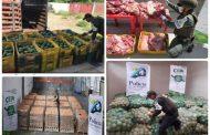 Más de $ 172 millones incautados en productos agropecuarios