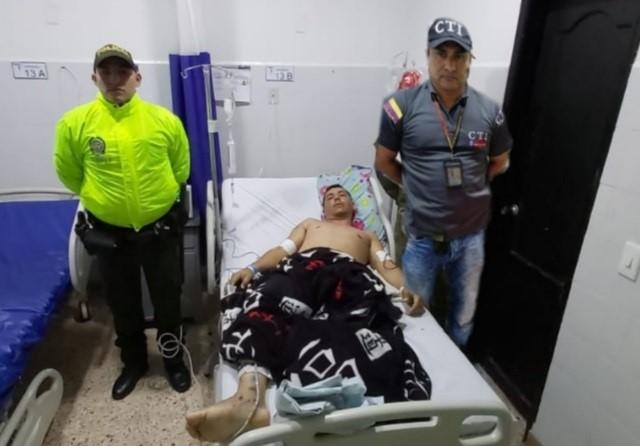 Por rebelión y terrorismo es capturado hombre en Aguachica