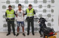 Por hurto de motocicleta en el barrio Panamá, capturado venezolano