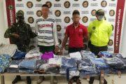 Por hurtar en almacén en La Jagua de Ibirico, capturadas dos personas de nacionalidad venezolana