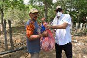 Emdupar se une a la entrega de alimentos en veredas del sur de Valledupar