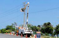 Ejecutan adecuaciones eléctricas en un sector de Curumaní