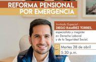 Reforma Pensional por Emergencia, charla virtual de Comfacesar