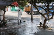 Se intensifica la limpieza y desinfección de las vías públicas en Valledupar
