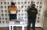 En hechos aislados, capturadas tres personas por porte ilegal de arma y hurto