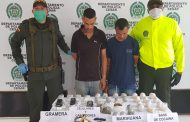 Capturados cuando lanzaban estupefacientes a la Cárcel de Alta y Mediana Seguridad de Valledupar