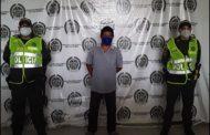Capturado por los delitos de concierto para delinquir agravado, homicidio con persona protegida