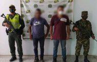 Dos personas capturadas por delitos ambientales