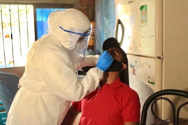 Más de 1200 muestras se han tomado en Valledupar y el Cesar EN búsqueda activa de casos de Covid-19