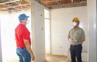 Alcalde de El Paso y Gobernador del Cesar se comprometieron a concluir construcción del Hospital de La Loma