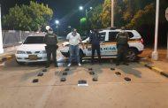 Hallan caleta de droga en llanta de un carro en Valledupar; dos capurados