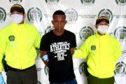 """Por homicidio en Valledupar, capturado """"El Negro Cartagena"""""""