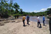 Transitoriamente suspenden extracción de material de arrastre en la margen izquierda del río Cesar en el corregimiento de Guacochito