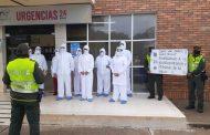 El respaldo de la Policía a profesionales de la salud en Valledupar