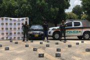 Detenido con 20 kilos de cocaína en las puertas de un vehículo en el sur del Cesar