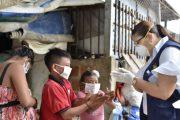 Población migrante Yukpa recibieron atención en Valledupar