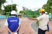 En un 90% avanzan obras de remodelación de los de Garupal y Novalito