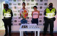 Capturados dos hombres y una mujer con coca, marihuana y bazuco