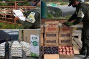Incautan más de $ 141 millones en productos agropecuarios de contrabando